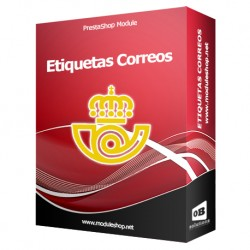 Integración Etiquetas Correos España Módulo Prestashop
