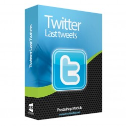 Últimos Tweets en pie de página Módulo para PrestaShop