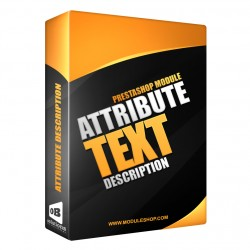 Attributes Description PrestaShop Module