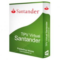 TPV Banco Santander / Redsys Módulo para Prestashop