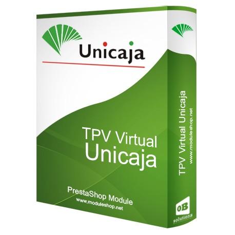 TPV Virtual Unicaja Módulo para PrestaShop