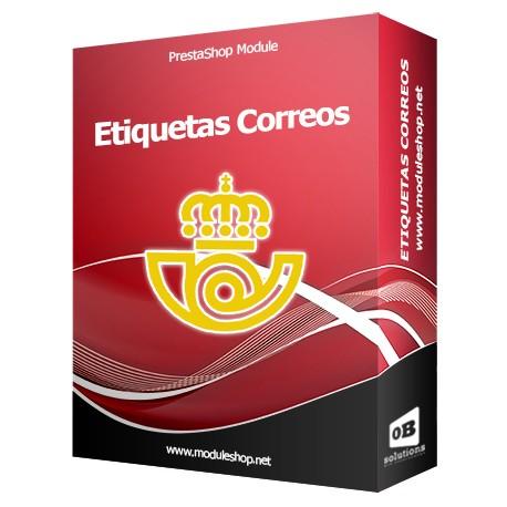 Correos Spain Labels Integration Prestashop Module