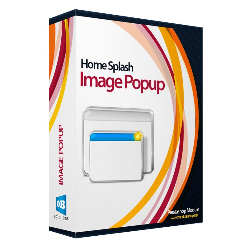 Home Image Promotion Splash Módulo Prestashop