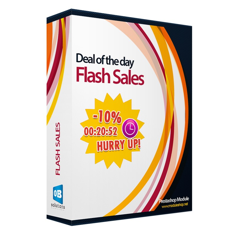Flash sales - Deal of the Day Module