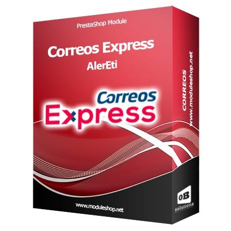 AlerEti Correos Express Export PrestaShop Module