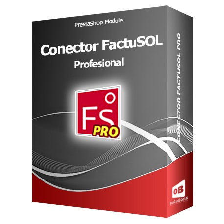 Conector FactuSOL PROFESIONAL Módulo PrestaShop