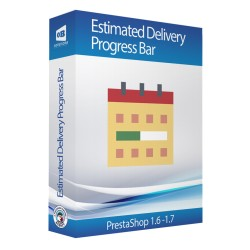 Estimated delivery progress bar Prestashop Module