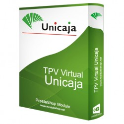 TPV Virtual Unicaja Módulo para PrestaShop
